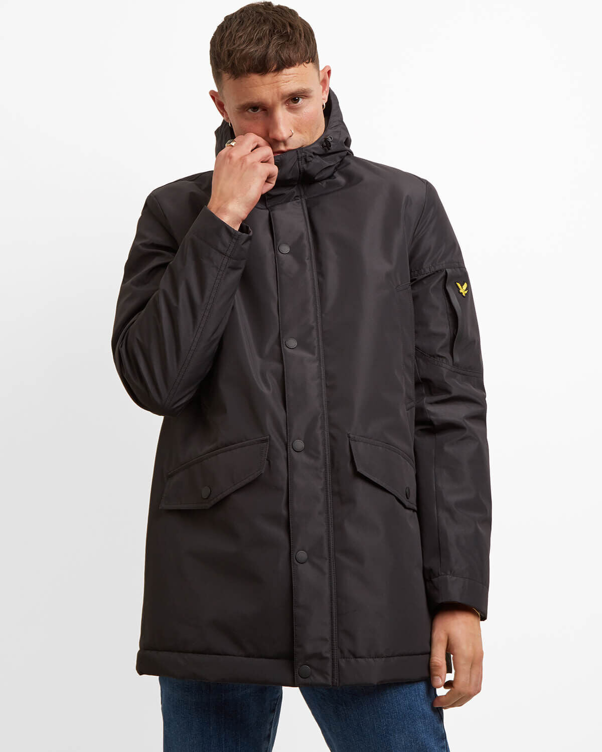 LYLE & SCOTT Technical Parka - BLACK - Frequency