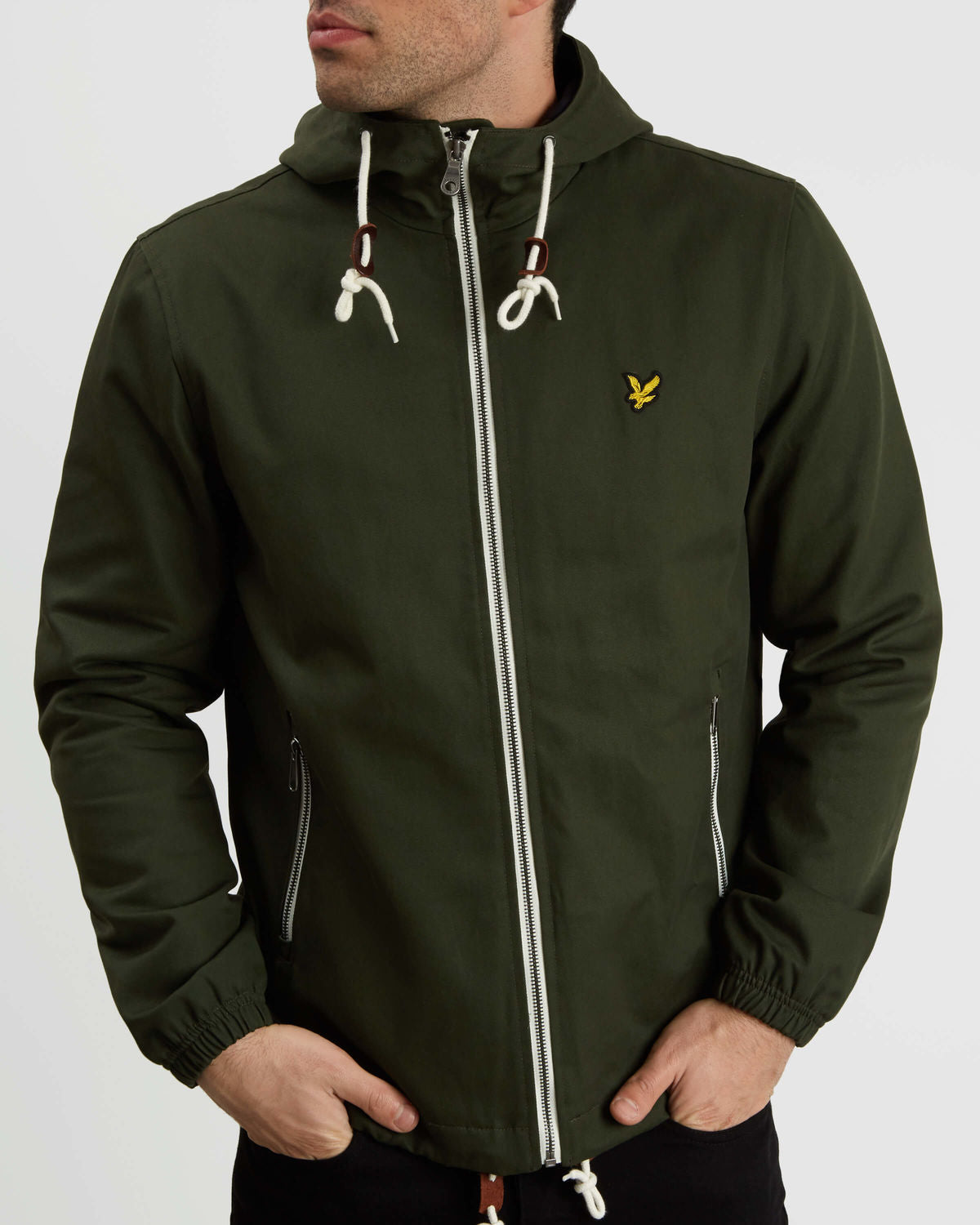 LYLE & SCOTT Hooded Twill Jacket