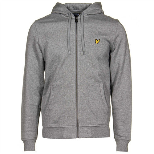 Lyle & Scott Zip Thru Hoodie - Grey