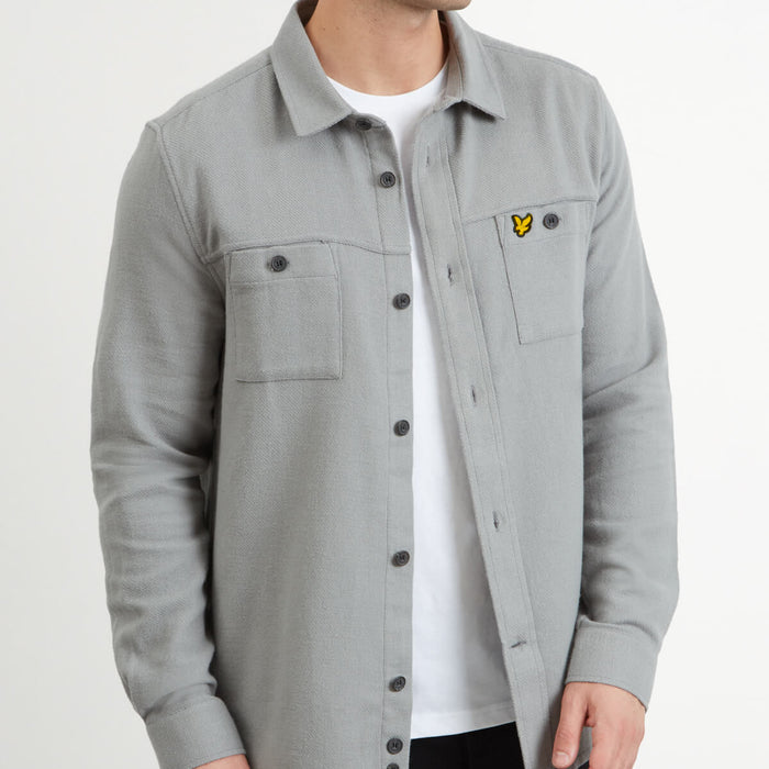 Lyle & Scott Brushed Overshirt