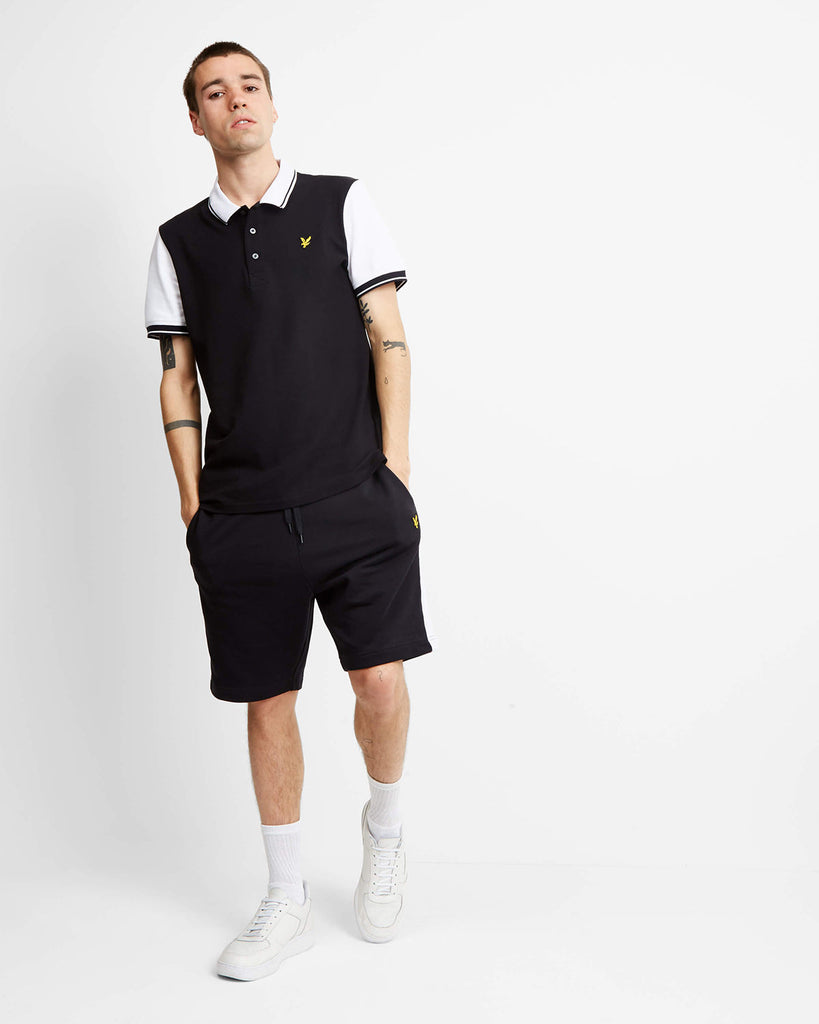 LYLE & SCOTT Sweat Short - BLACK