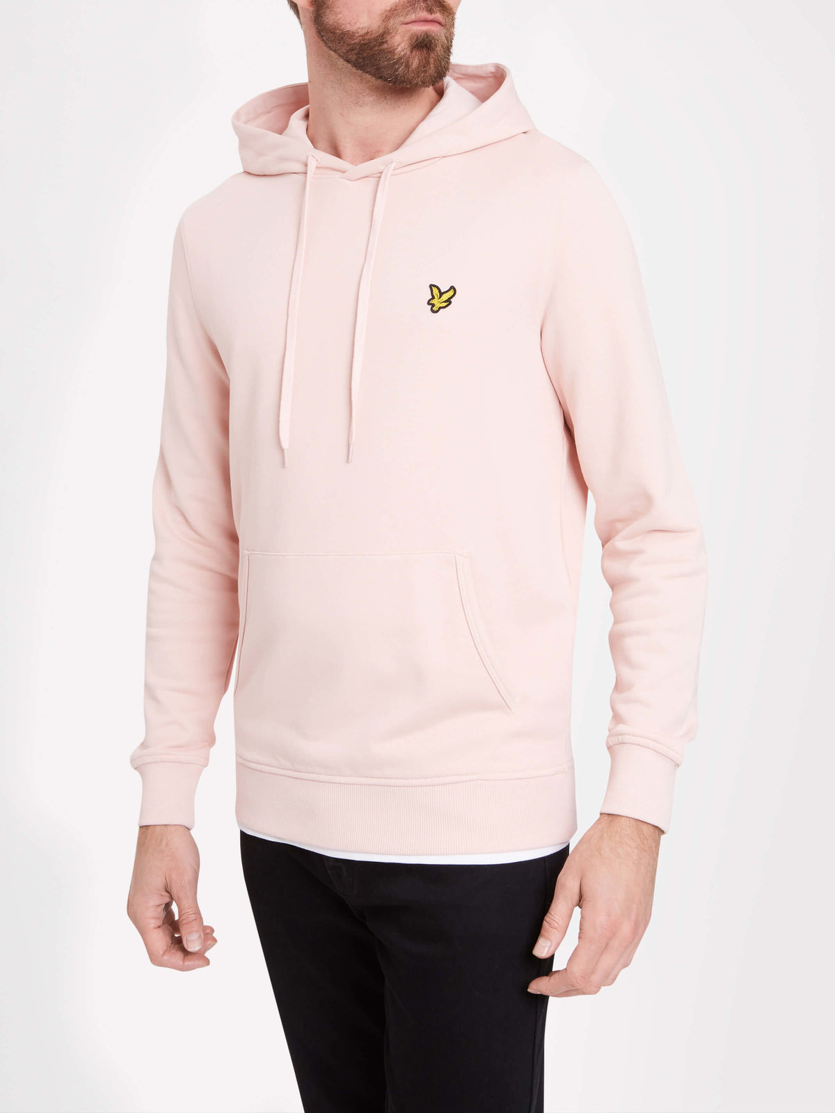 Lyle & Scott Pullover Hoodie - DUSTY PINK