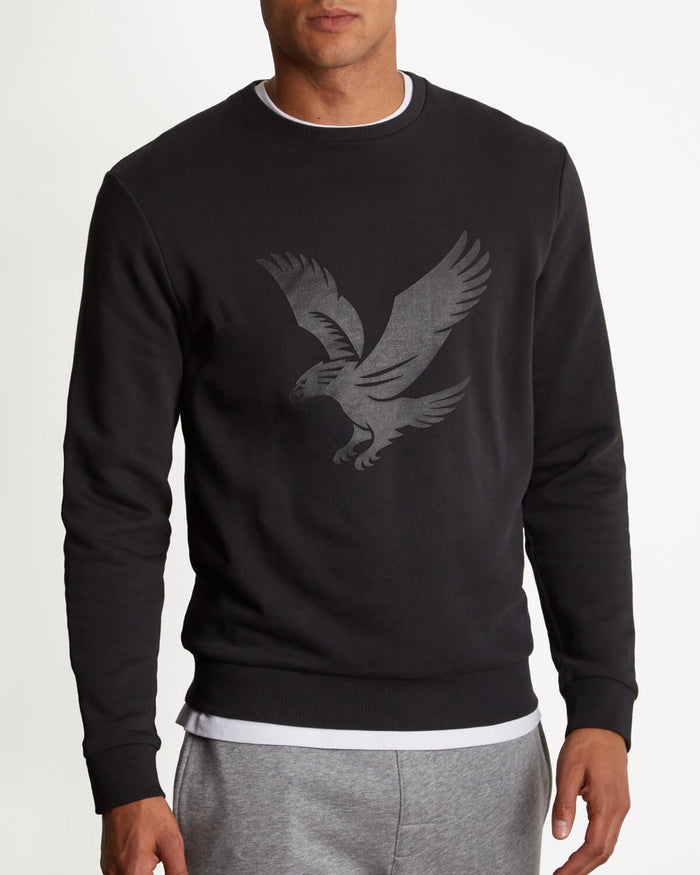 Lyle & Scott Casuals Logo Sweatshirt - Black
