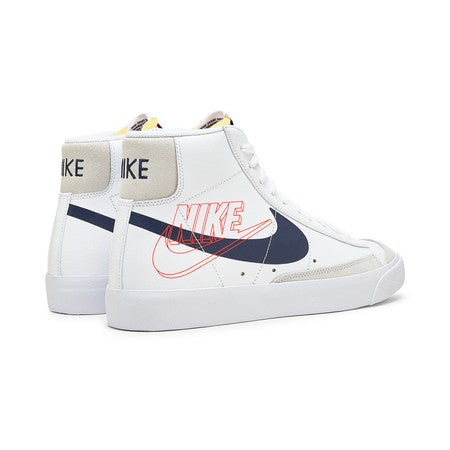 Nike Blazer Mid 77 - White / Midnight Navy Sail