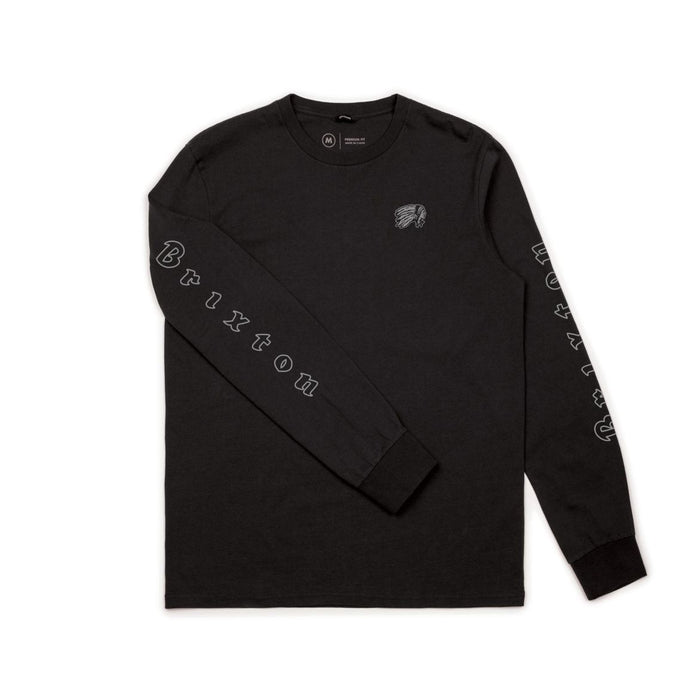 Brixton Primo Long Sleeve Standard t-shirt - Black
