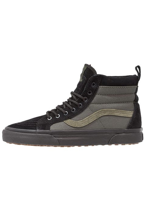 Vans SK8 MTE - High-top trainers - Noir/Vert olive