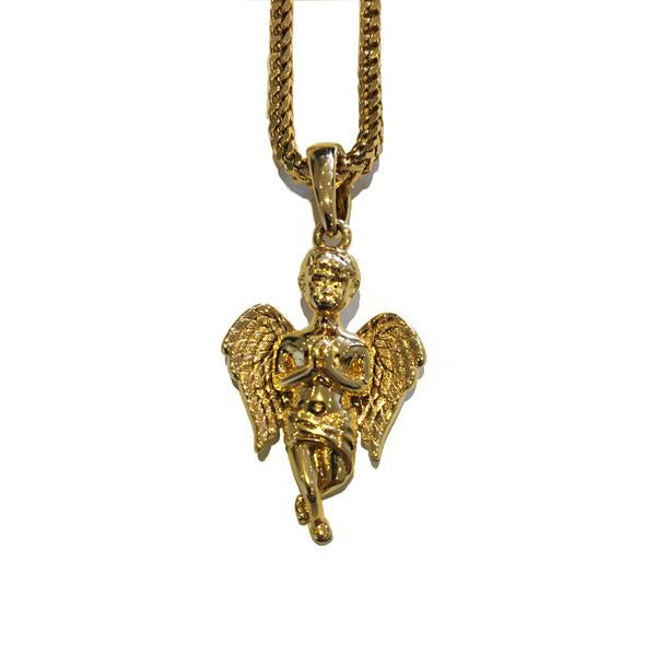 Midvs co The 'Guardian' Micro Pendant - Gold