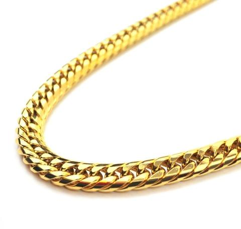 "Midvs co & CoCuban Chain 18kt Gold | 28"" - 12mm"