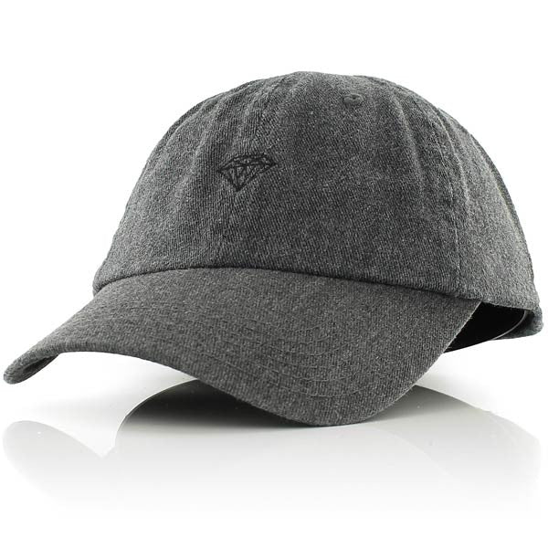 Diamond Supply Co 'Brilliant' Heather Sport Cap - Grey