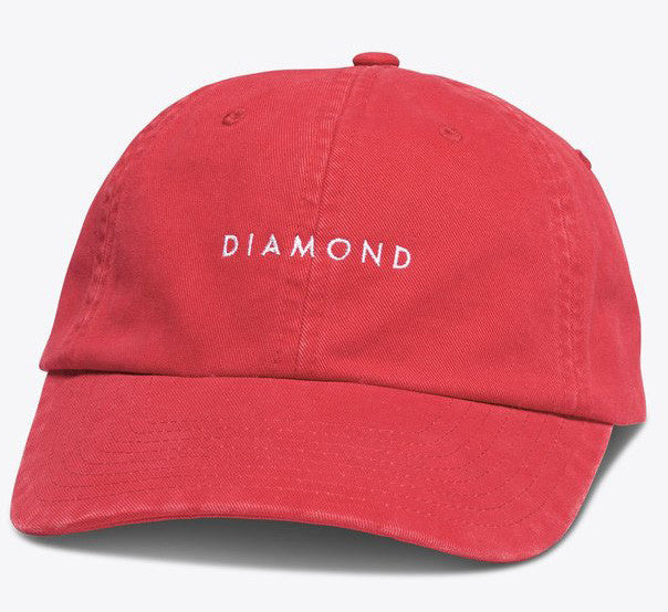 Diamond Supply Co'Sport' Hat - Red/White