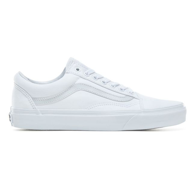 VANS OLD SKOOL SHOES - TRUE WHITE