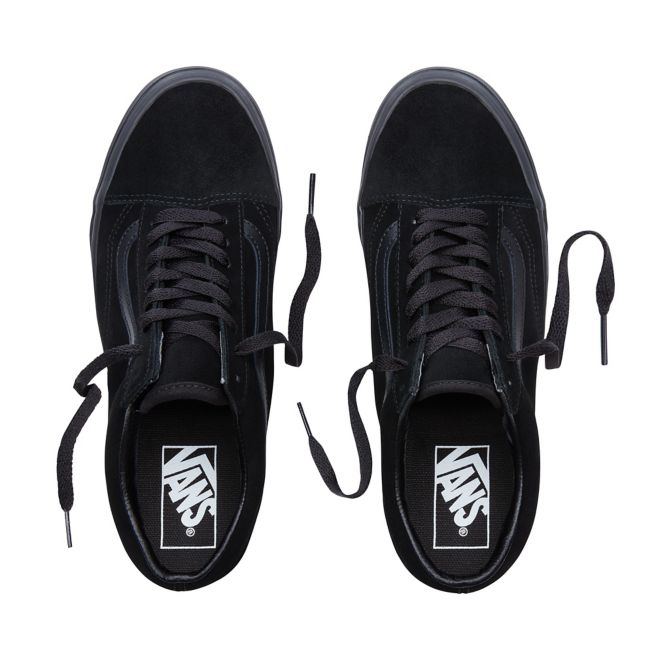 VANS SUEDE OLD SKOOL SHOES - Black