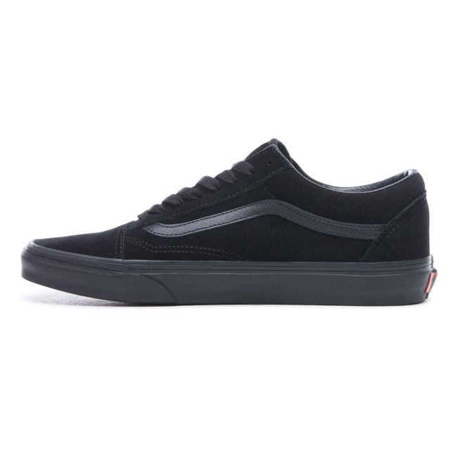 VANS SUEDE OLDSKOOL SHOES - Black