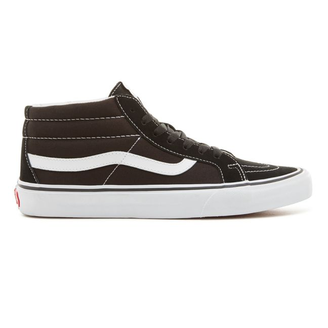 VANS SK8-MID REISSUE SHOES BLACK/WHITE
