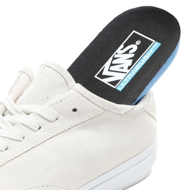 VANS SUEDE DIAMO NI SHOES - TRUE WHITE