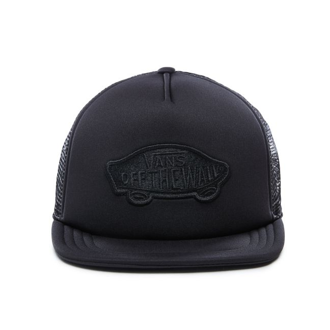 VANS CLASSIC PATCH TRUCKER HAT - BLACK