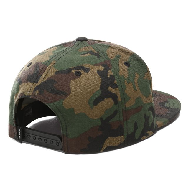 VANS FULL PATCH SNAPBACK HAT - CAMO