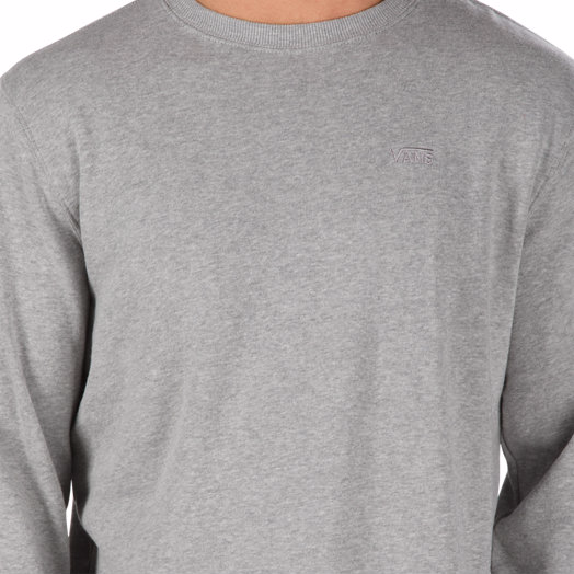Vans Core Basic Crew Sweatshirt - Cement Heather