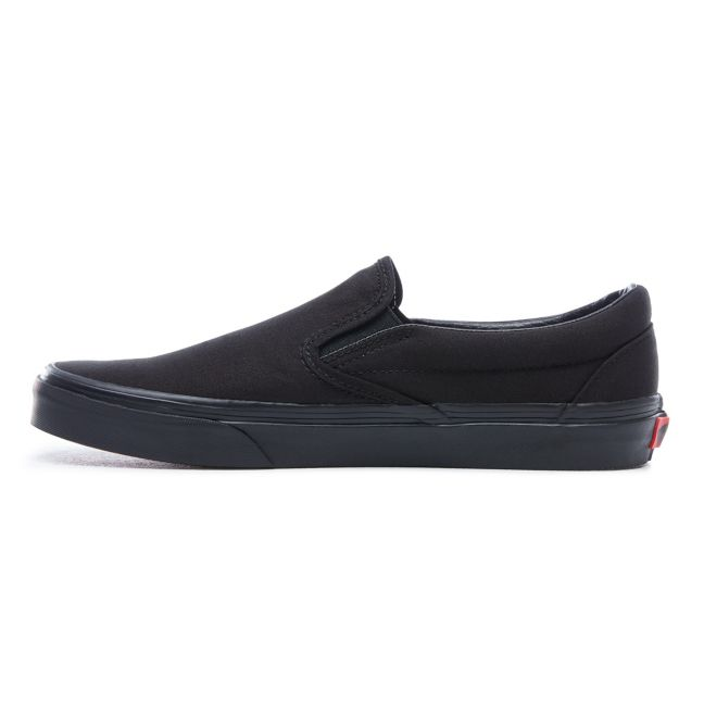 VANS CLASSIC SLIP-ON SHOES BLACK/BLACK