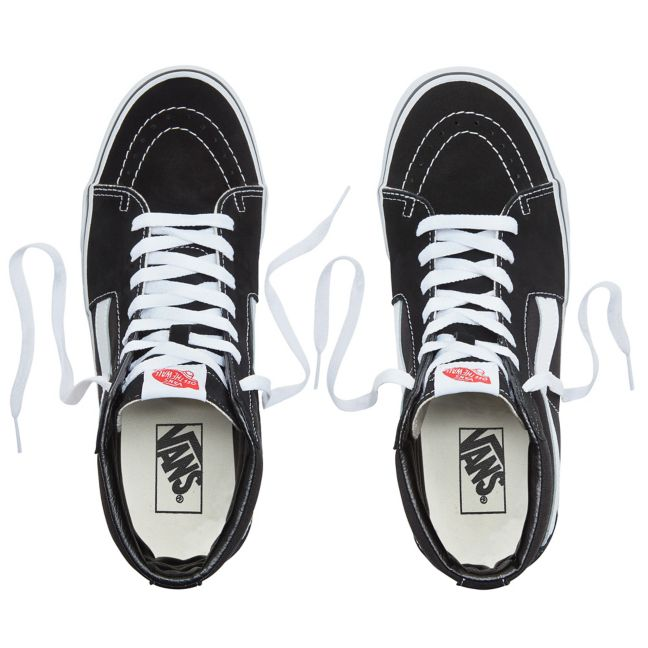 Vans SK8-HI SHOES - black/white