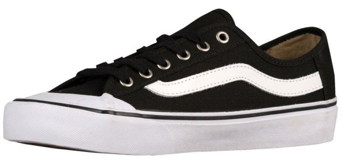 Vans Black Ball SF Shoes - Black/White