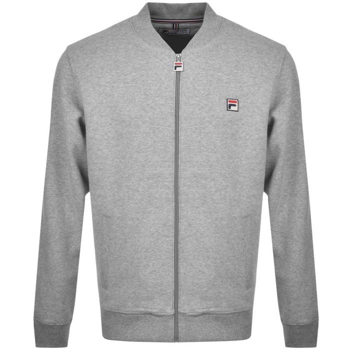 Fila Guido Baseball Zip Fleece Sweatshirt - Grey Marl
