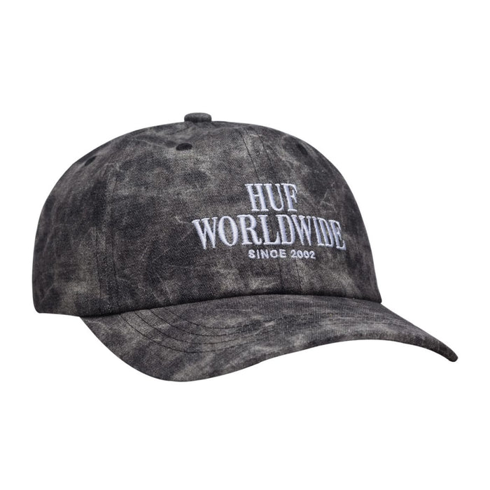 Huf Stacked Serif Frost Wash Dad Hat