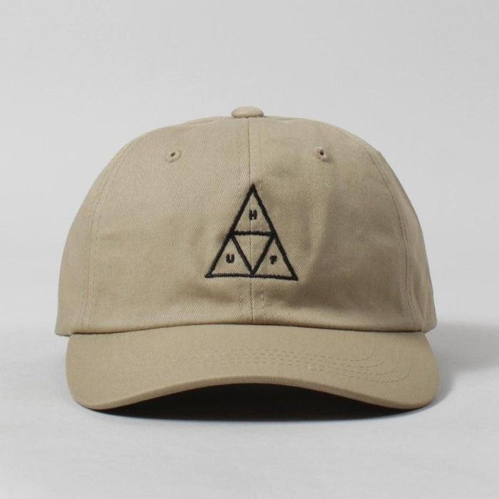 Huf 'Triple Triangle' Curved Brim Hat - Cream