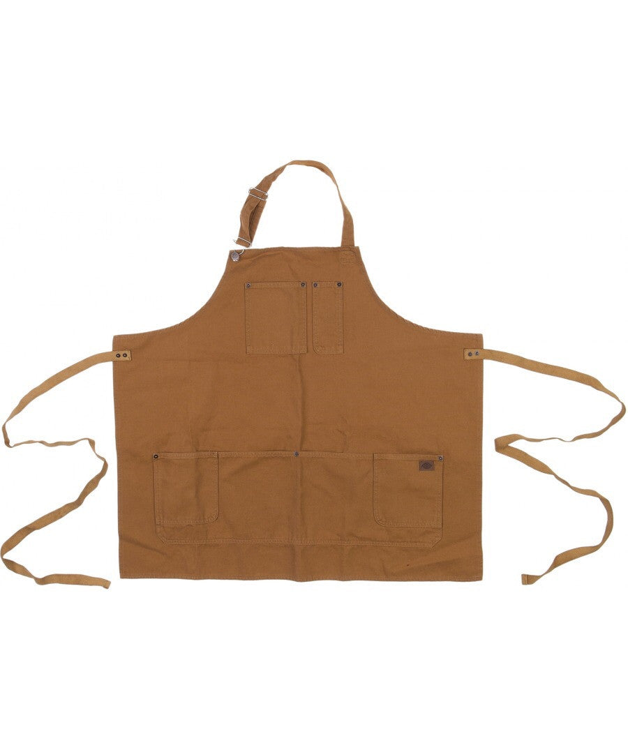 Dickies Barber Apron - Duck Brown
