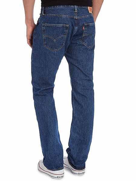 Levi's 501 Original Straight Jeans Blue
