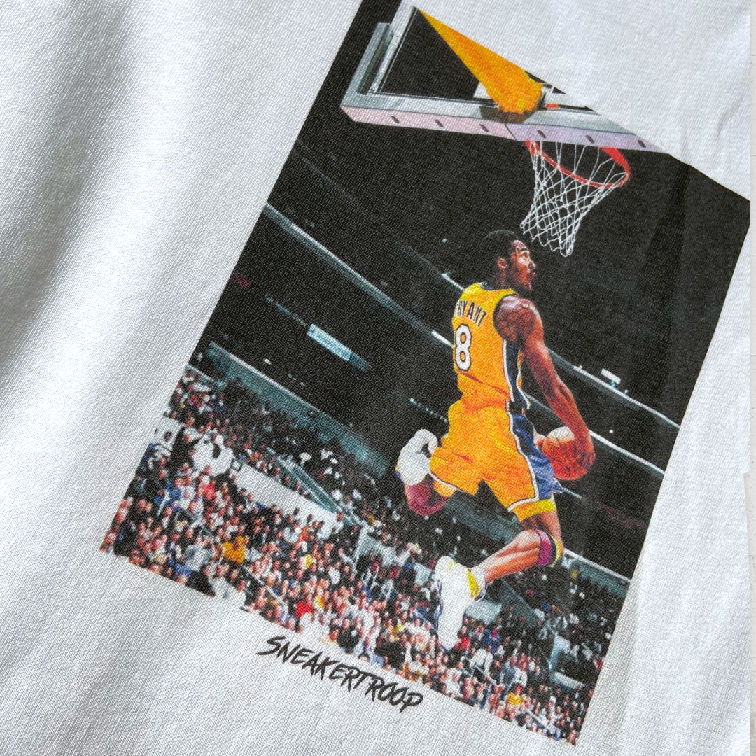 Sneakertroop Dunk Edition Kobe T-shirt - White
