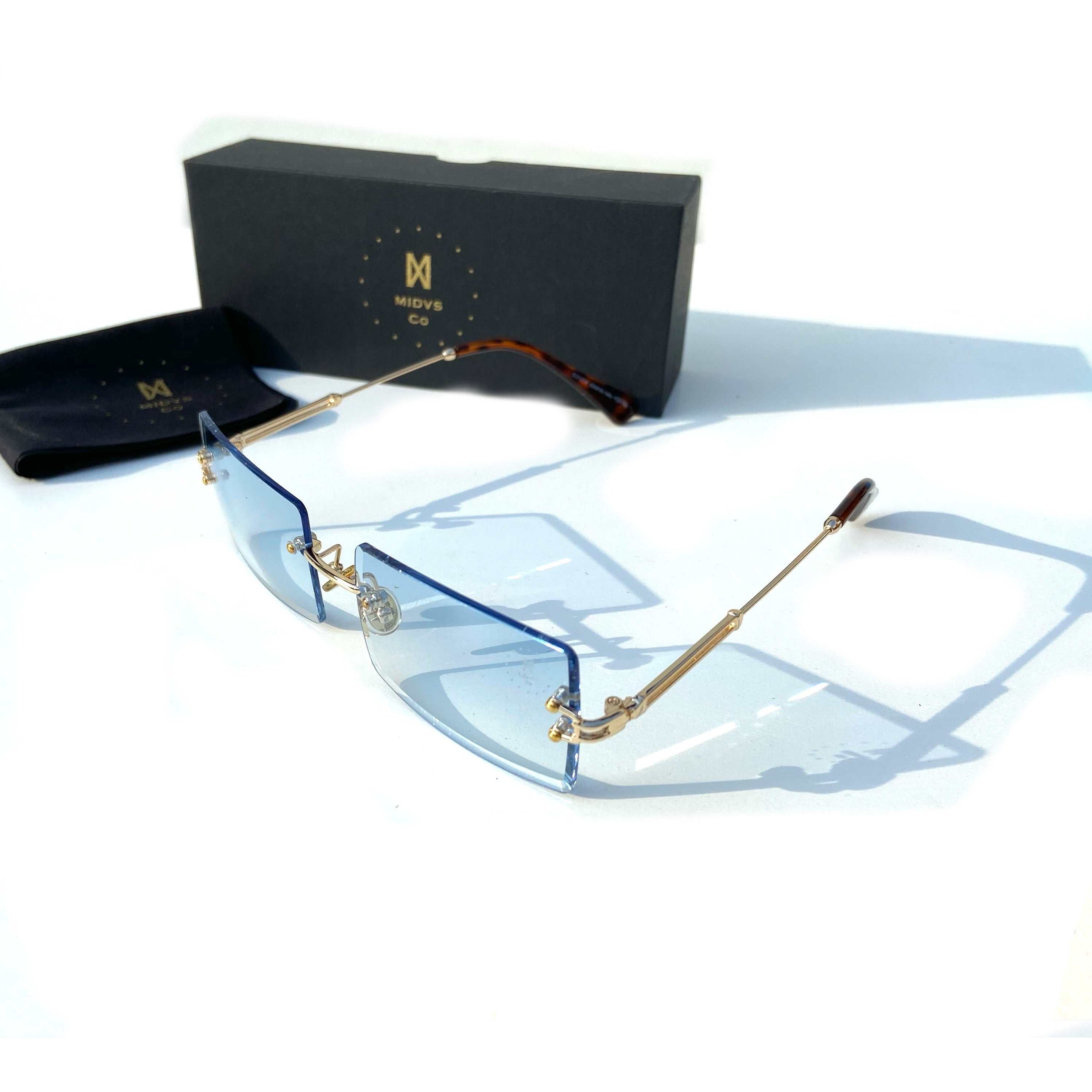 Midas co Capone Shades Blue tint / Gold