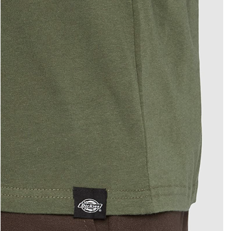 DICKIES HORSESHOE TEE - Dark Olive