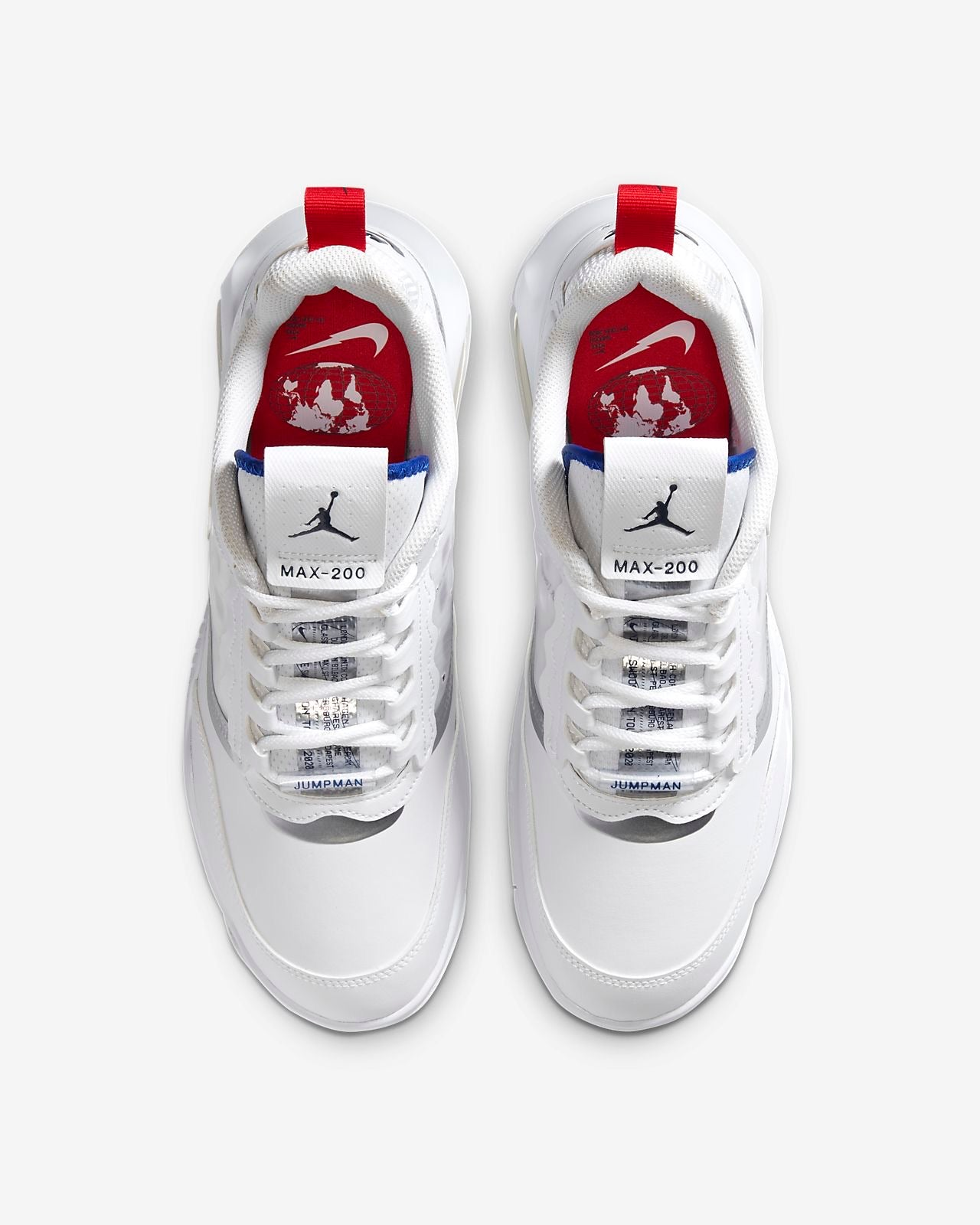 Nike Air Jordan 200 - White / University Red