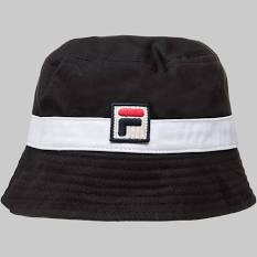 Fila Vintage Basil Bucket Hat Black
