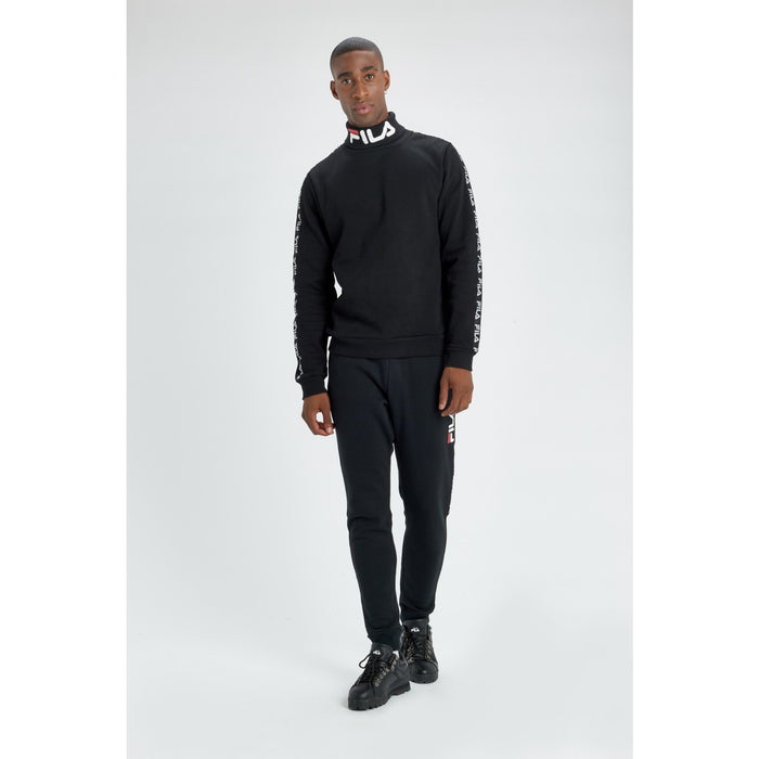 Fila Black Line 'Trey' Turtleneck Jumper - Black