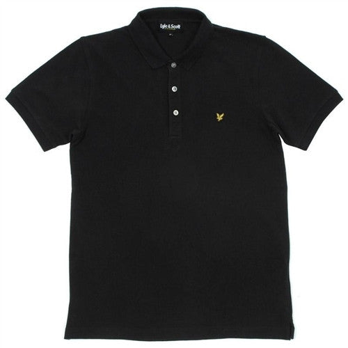 Lyle & Scott Plain Polo Shirt - Black