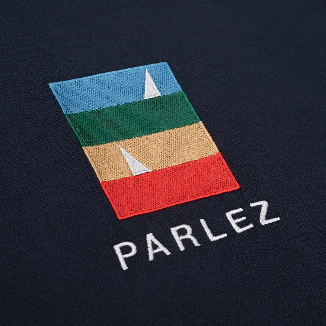 Parlez Fitts T shirt - Navy