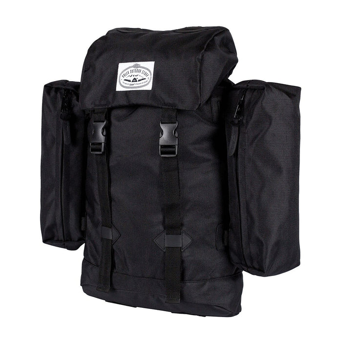 POLER STUFF RETRO RUCKSACK - BLACK