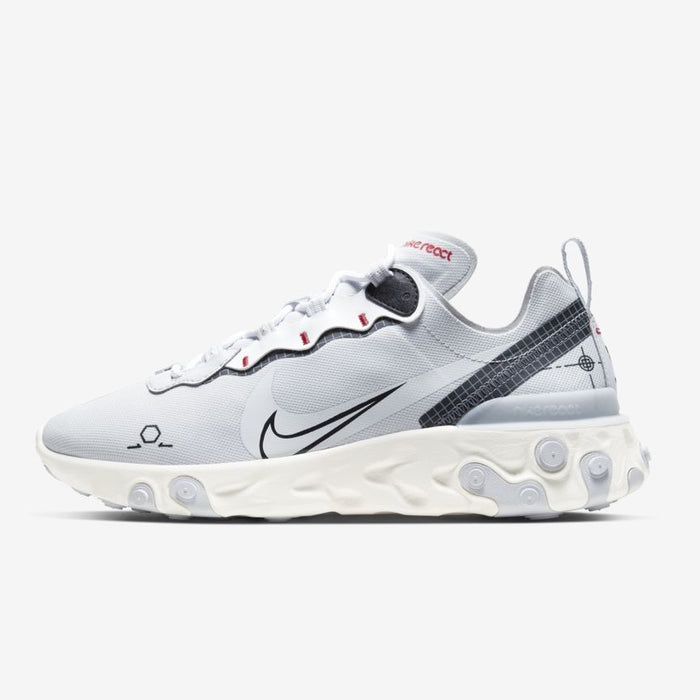 Nike React Element 55 - Pure Platinum / Sail