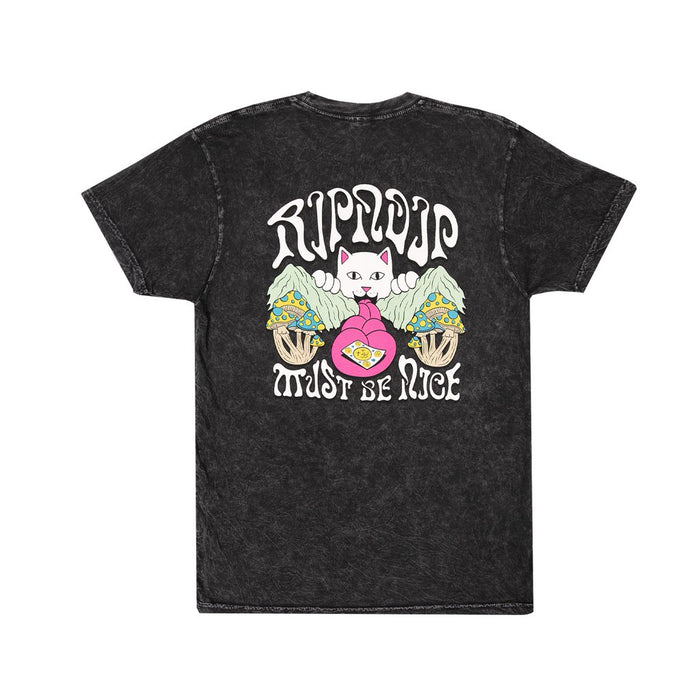 RIPNDIP One more tab T-Shirt - Black Acid