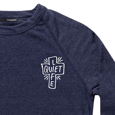 The Quiet Life 'Sharpie' Crew neck sweat