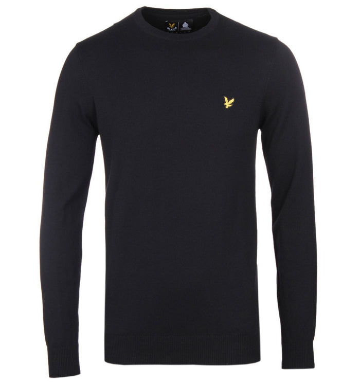 Lyle & Scott Crew Neck - Black