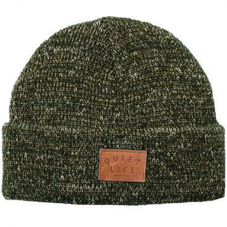 The Quiet Life 'Marled' Beanie - Olive