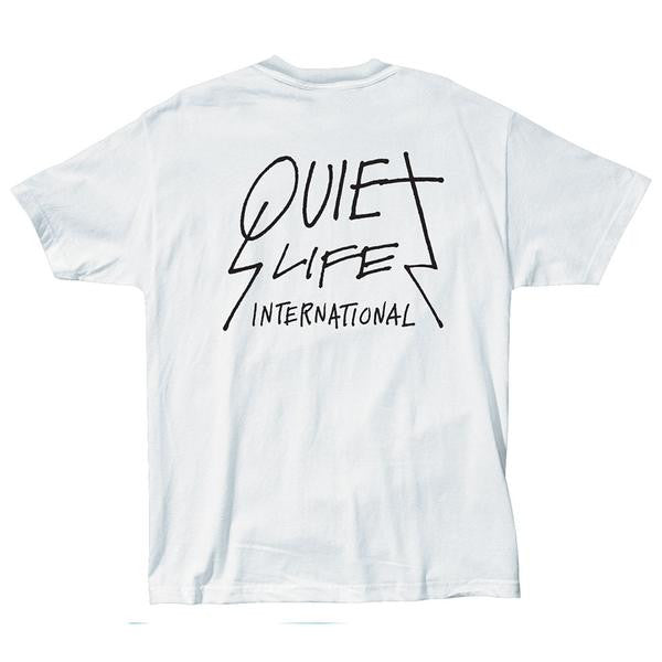 The Quiet Life 'International' T shirt - White