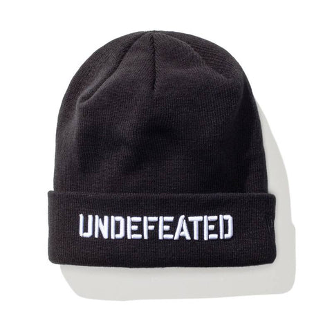 Undefeated Stencil Beanie - Black