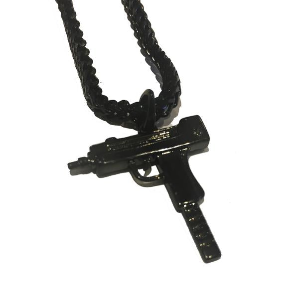 Midvs co The 'Uzi' Micro Pendant - Rhodium