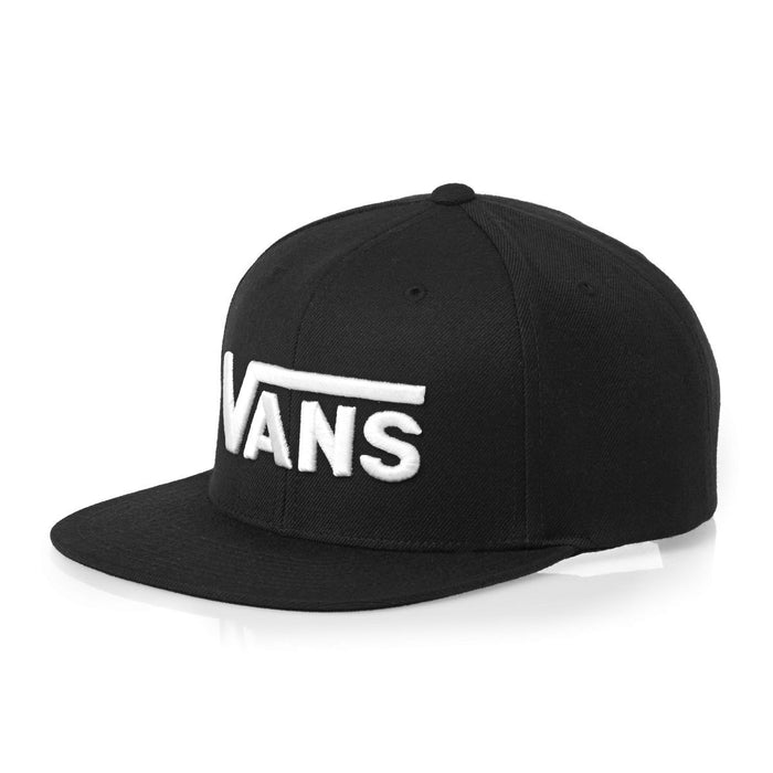 Vans Drop V Snapback - Black/White