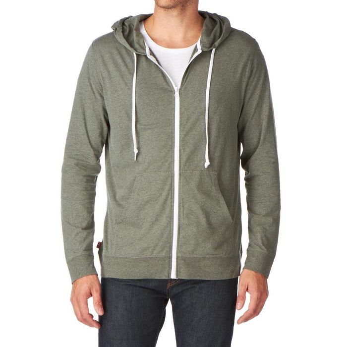 Vans Core Basics Zip Hoodie - Quarry