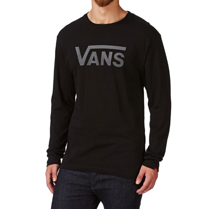 Vans Classic Long Sleeve T-Shirt - Black